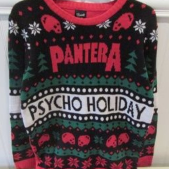 Sweaters Heavy Metal Ugly Christmas Sweater Pantera Xl Poshmark